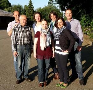 Unser Bild zeigt den aktuellen Vorstand des Reit- und Fahrvereins Nordhorn: (v.l.n.r) Rainer Bertram, Heinz Vrielink, Frauke Bült, Nina Vrielink, Anne Henkel, Brigitte Gebert und Dr. Michael Henkel.